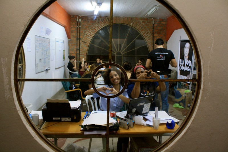 The office and the hard working Limpa Brasil! team last night